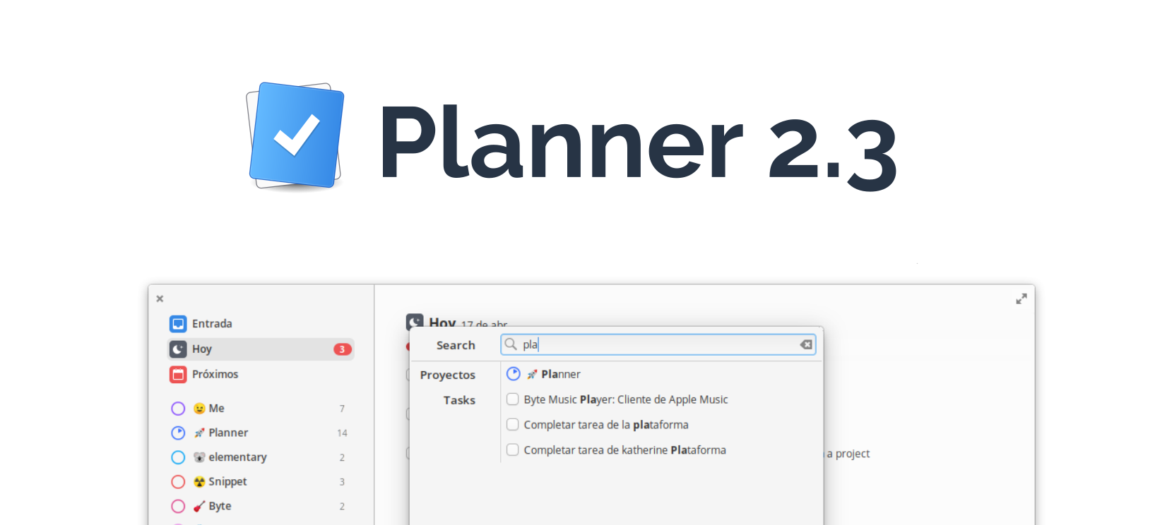 Hi everyone! Planner 2.3 is here