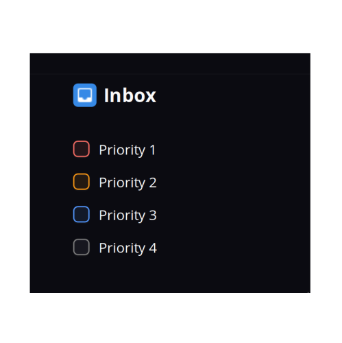 Planner 2.4 Priority